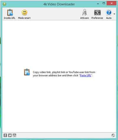 guida 4k videodownloader schermata 1